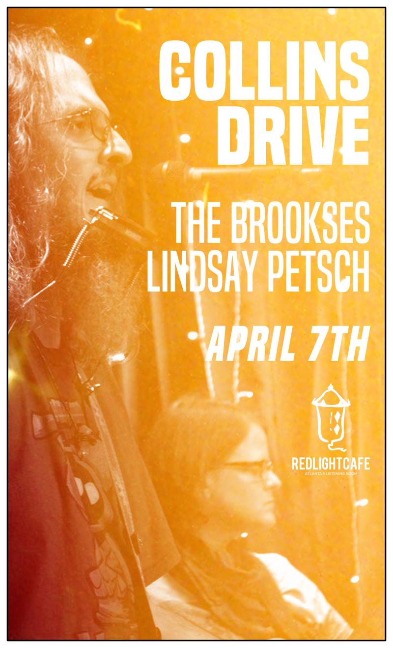 Collins Drive + The Brookses w/ special guest Emily Backus — April 7, 2018 — Red Light Café, Atlanta, GA