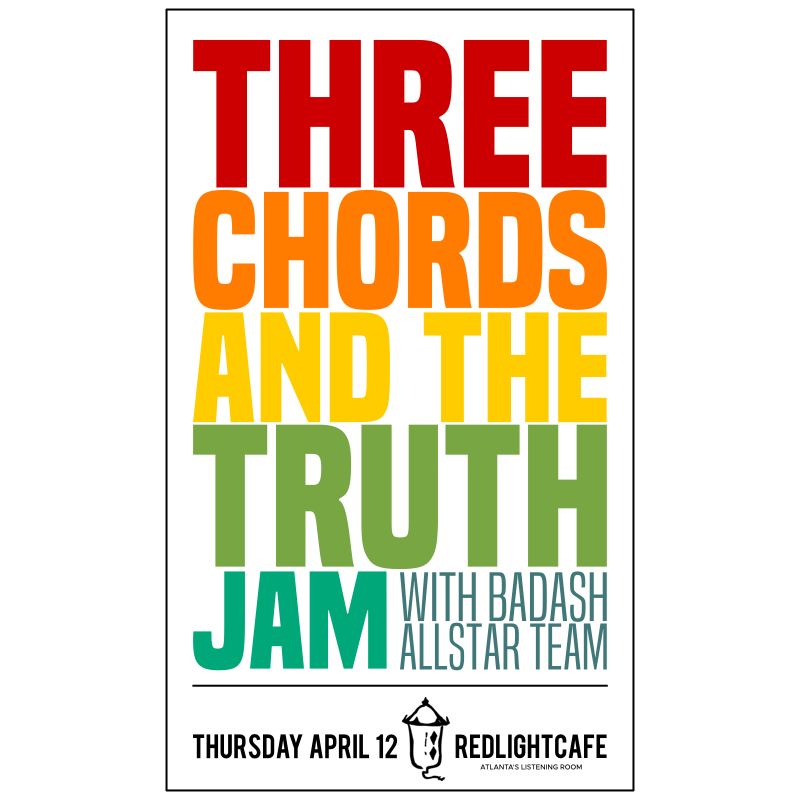 Three Chords And The Truth Jam W Badash Allstar Team Red Light