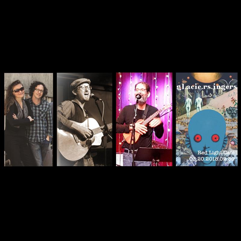 The Glacier Singers w/ Billy Gewin + Jonathan Brenner + Marla Feeney + Will Groth + Dustin Cottrell — March 20, 2018 — Red Light Café, Atlanta, GA