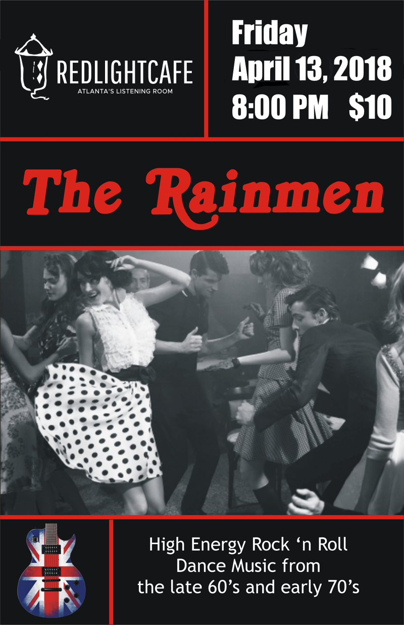 The Rainmen Rock & Roll Dance Party — April 13, 2018 — Red Light Café, Atlanta, GA