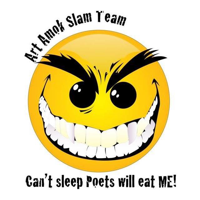 Art Amok Slam: Can't Sleep Poets Will Eat Me — May 1, 2018 — Red Light Café, Atlanta, GA