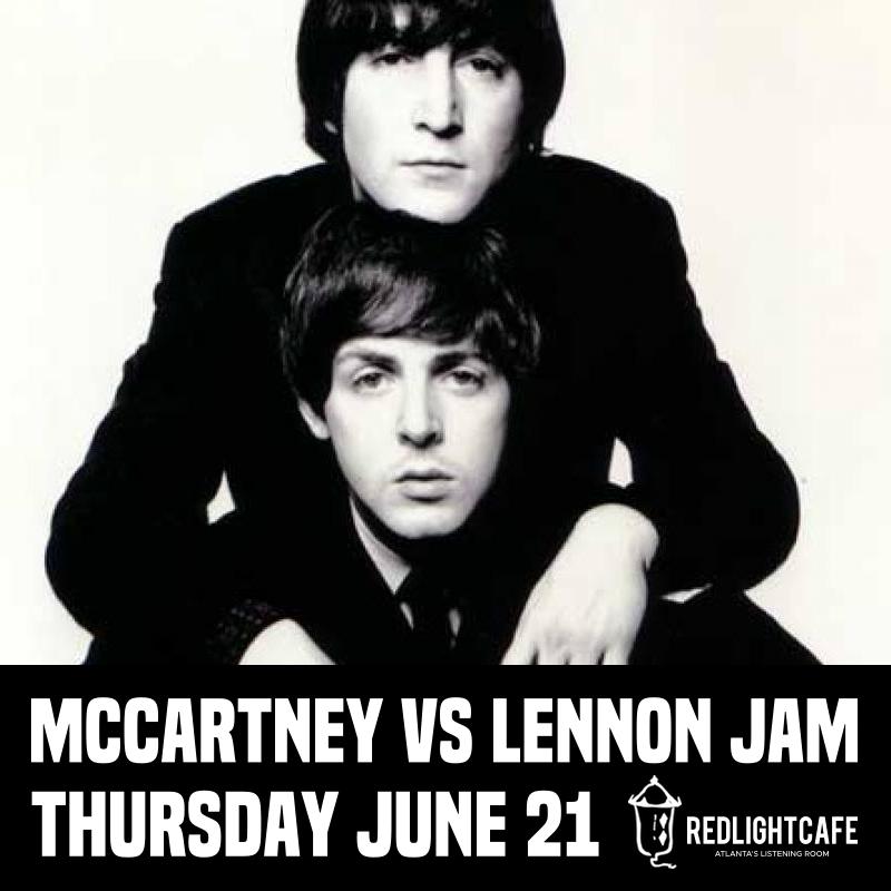 McCartney (Bday) vs. Lennon Jam w/ BadAsh Allstar Team — June 21, 2018 — Red Light Café, Atlanta, GA