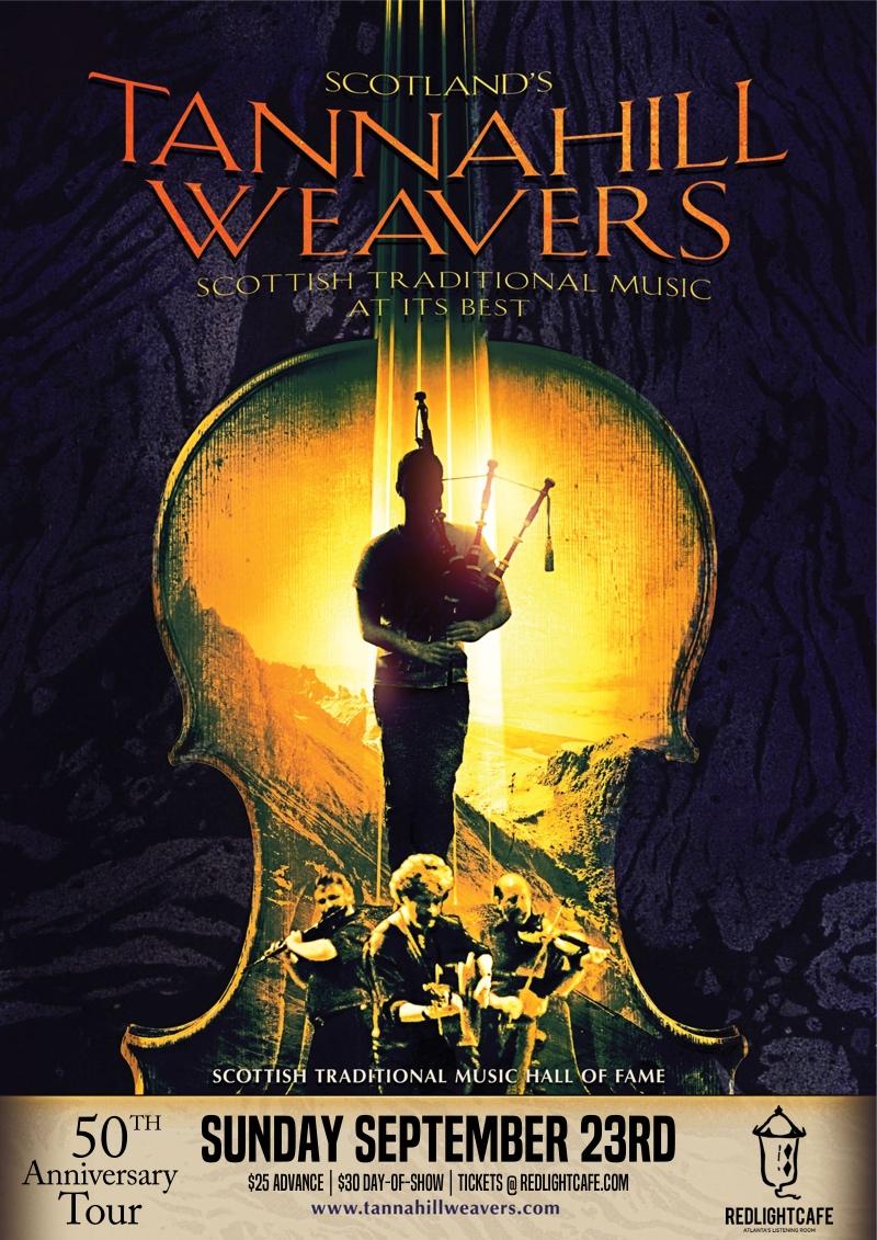 The Tannahill Weavers: 50th Anniversary Tour — September 23, 2018 — Red Light Café, Atlanta, GA