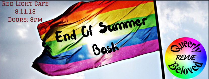 Queerly Beloved Revue's End of Summer Bash — August 11, 2018 — Red Light Café, Atlanta, GA