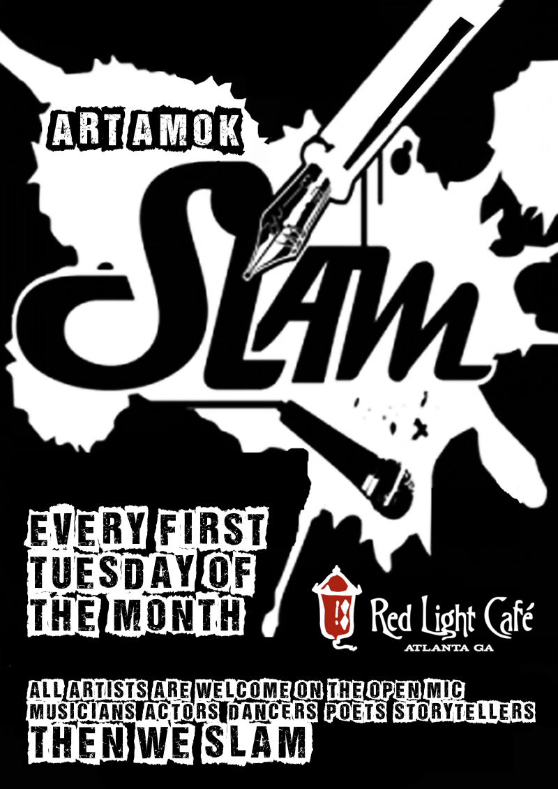 Art Amok Slam— September 4, 2018 — Red Light Café, Atlanta, GA