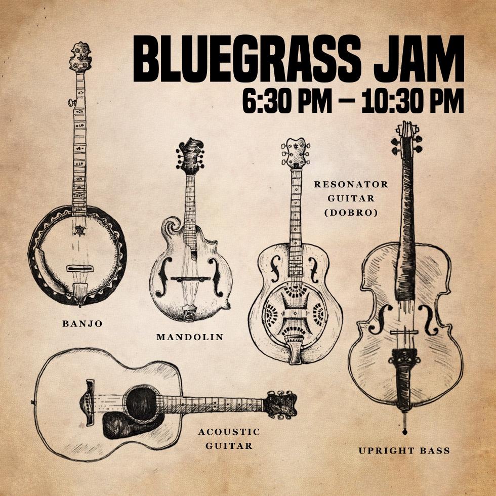 Bluegrass Jam — August 9, 2018 — Red Light Café, Atlanta, GA