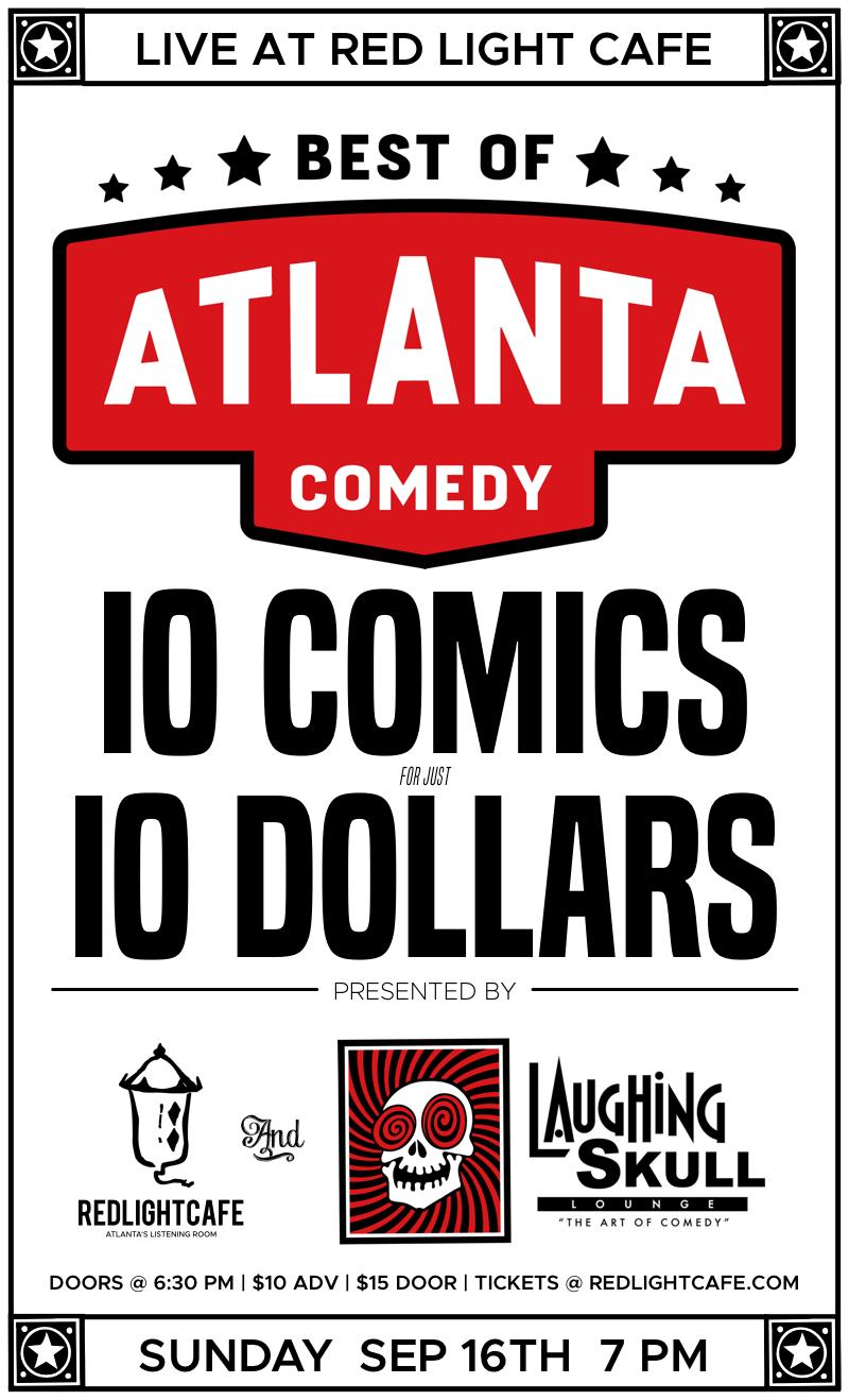 Best of Atlanta Comedy at Red Light Café presented by Laughing Skull Lounge — September 16, 2018 — Red Light Café, Atlanta, GA