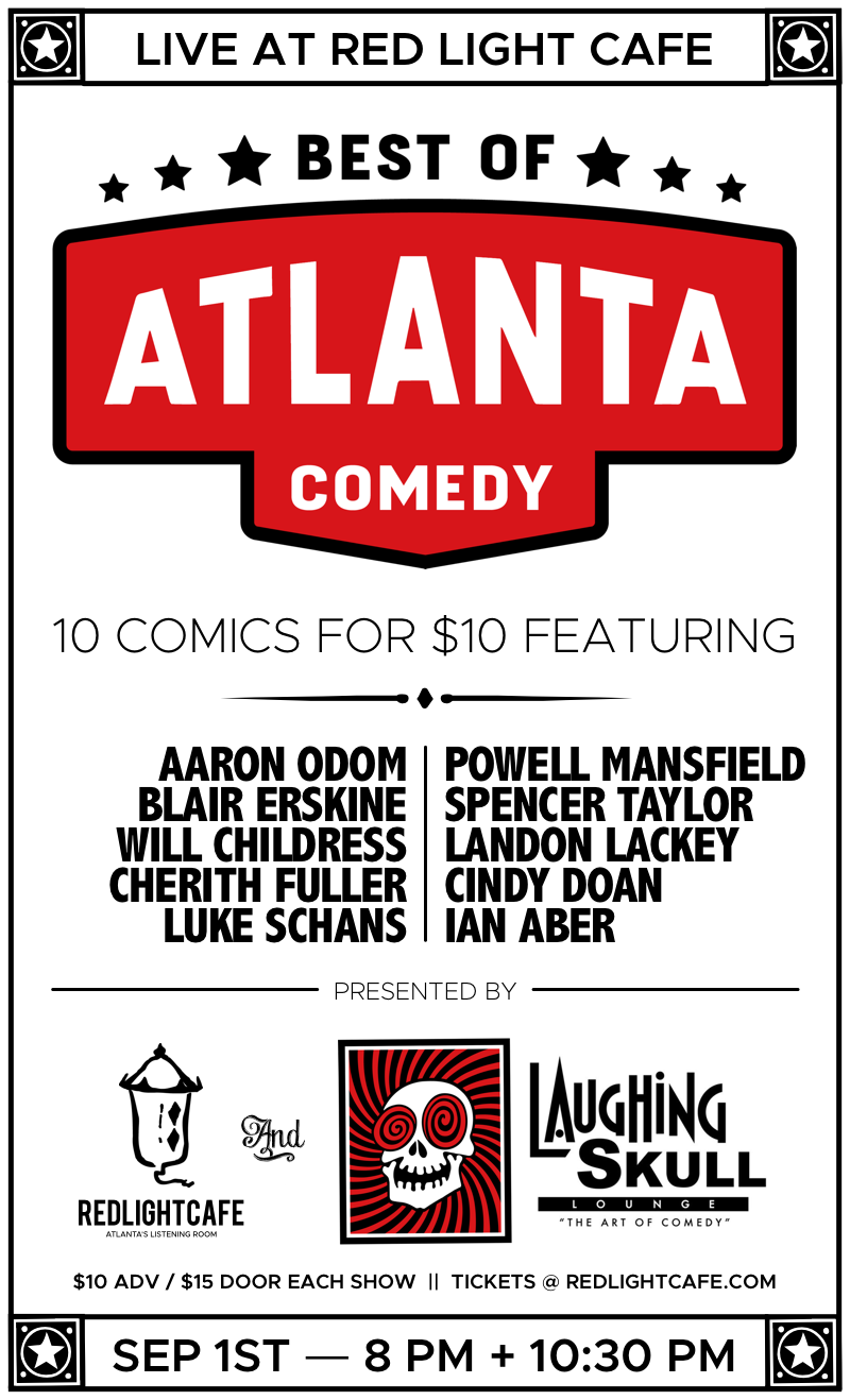 Best Of Atlanta Comedy At Red Light Caf Presented By Laughing Skull
