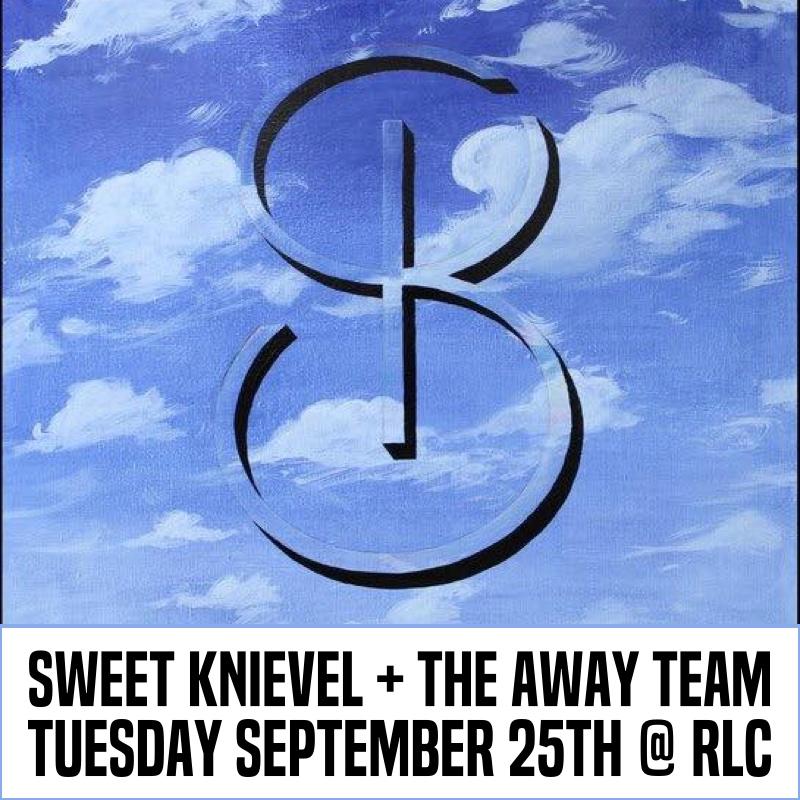 Sweet Knievel w/ The Away Team — September 25, 2018 — Red Light Café, Atlanta, GA