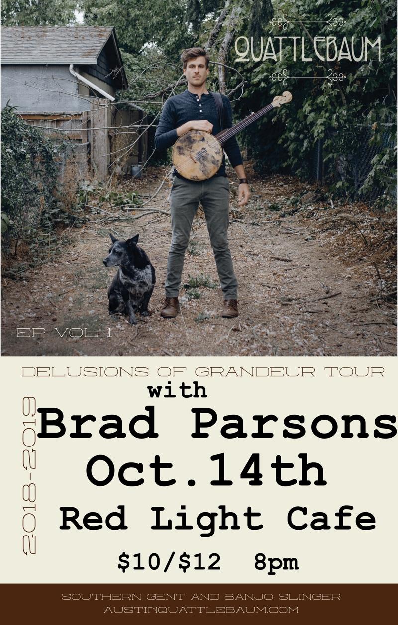Quattlebaum w/ Brad Parsons — October 14, 2018 — Red Light Café, Atlanta, GA