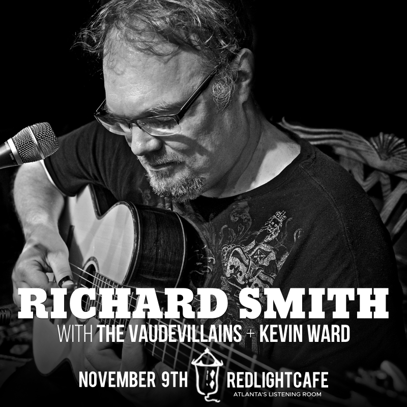 Richard Smith w/ The Vaudevillains + Kevin Ward — November 9, 2018 — Red Light Café, Atlanta, GA