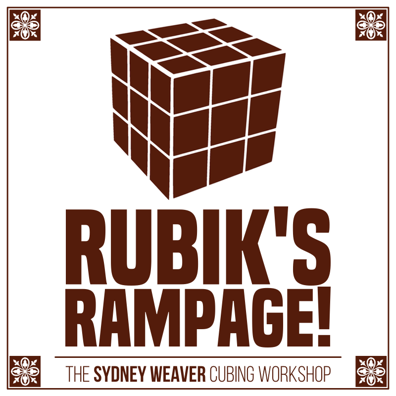 Rubik's Rampage! The Sydney Weaver Cubing Workshop — January 12, 2019 — Red Light Café, Atlanta, GA