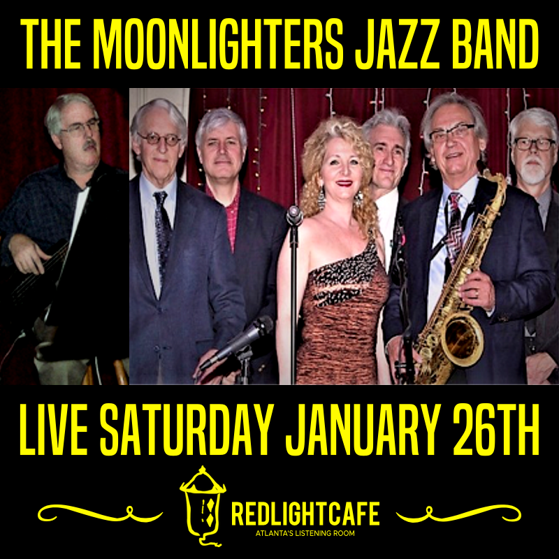 The Moonlighters Jazz Band — January 26, 2019 — Red Light Café, Atlanta, GA