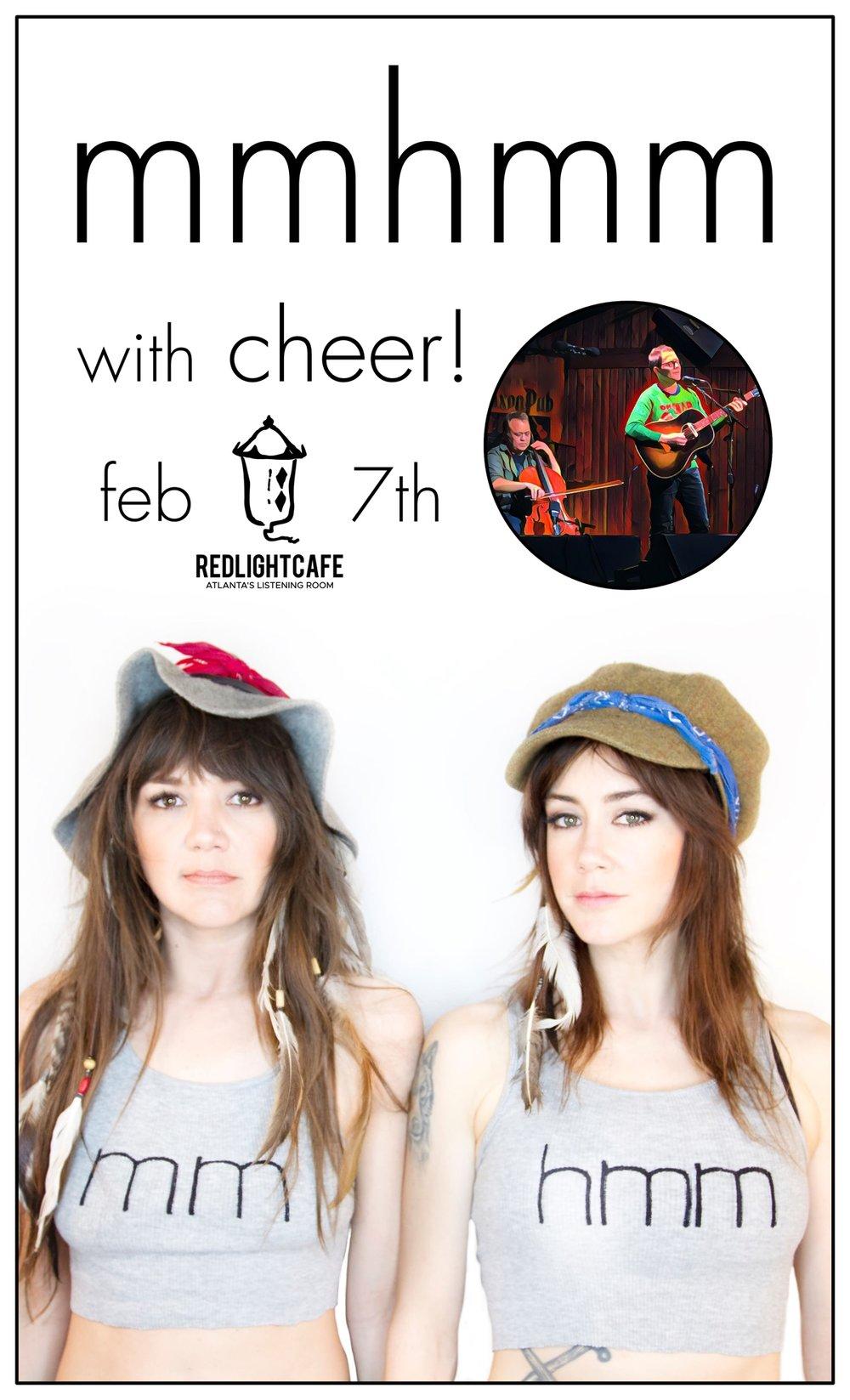 mmhmm w/ cheer! — February 7, 2019 — Red Light Café, Atlanta, GA