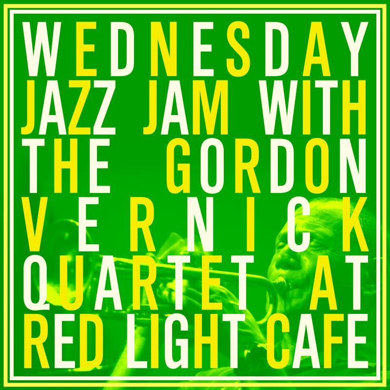 Jazz Jam w/ the Gordon Vernick Quartet — April 10, 2019 — Red Light Café, Atlanta, GA