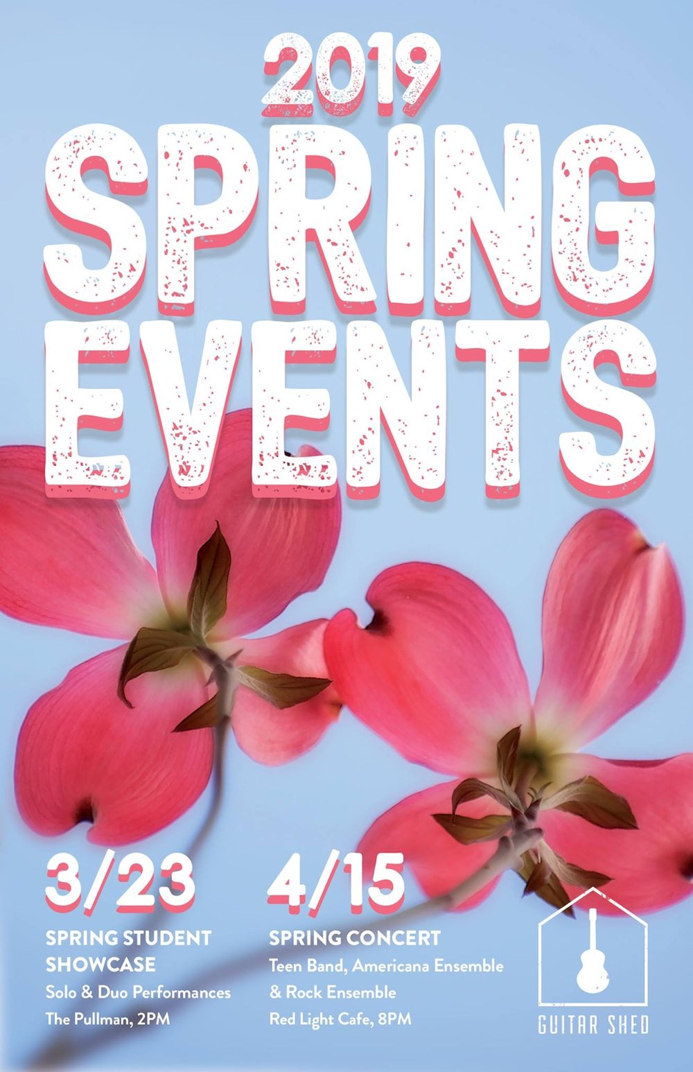 Guitar Shed Spring Concert — April 15, 2019 — Red Light Café, Atlanta, GA