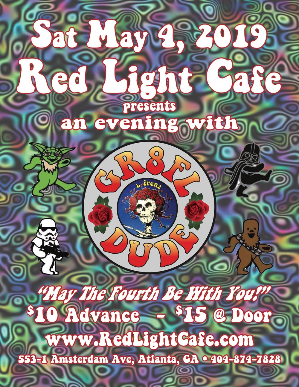 An Evening with gr8FLdüde & frenz — May 4, 2019 — Red Light Café, Atlanta, GA