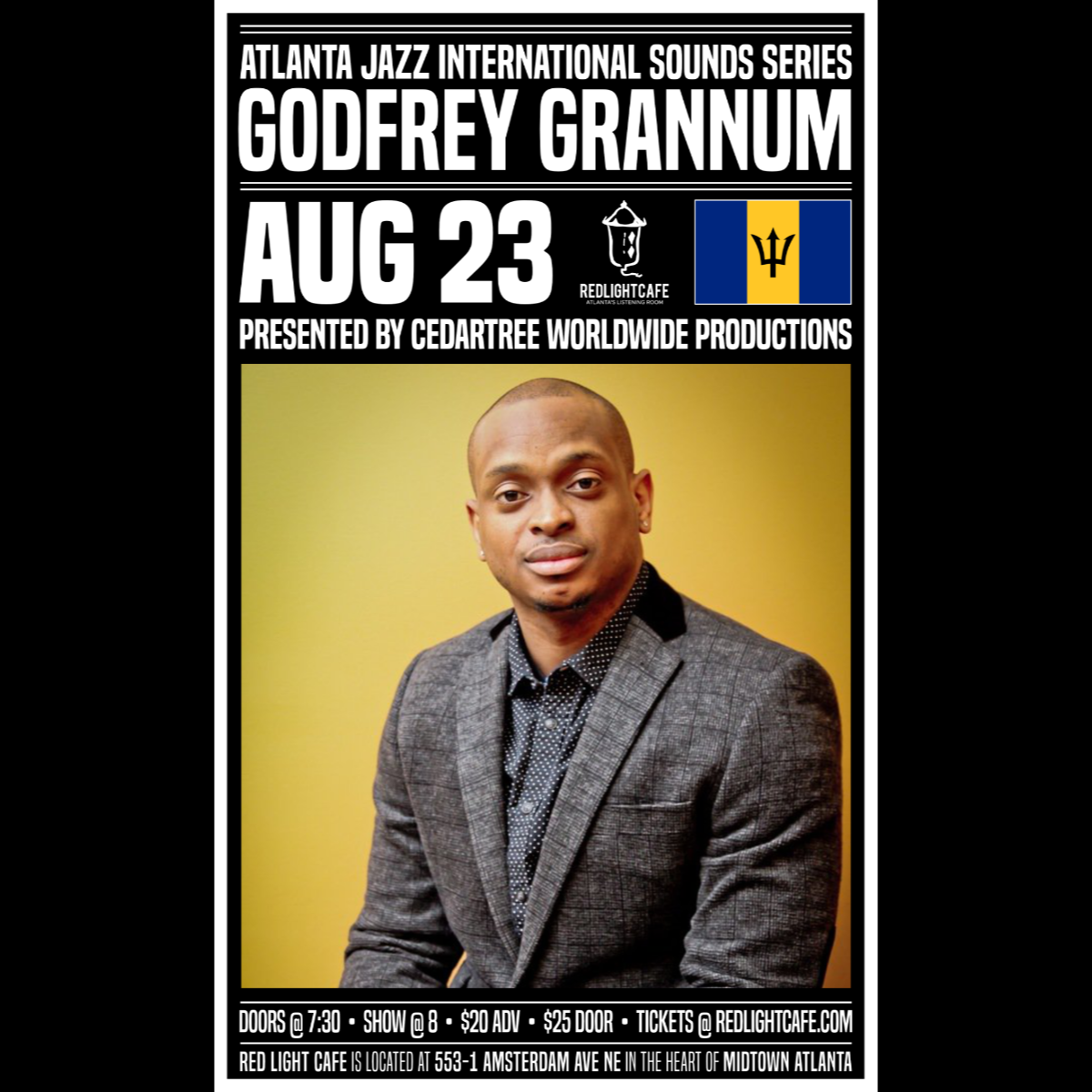 Atlanta Jazz International Sounds Series: Godfrey Grannum — Red