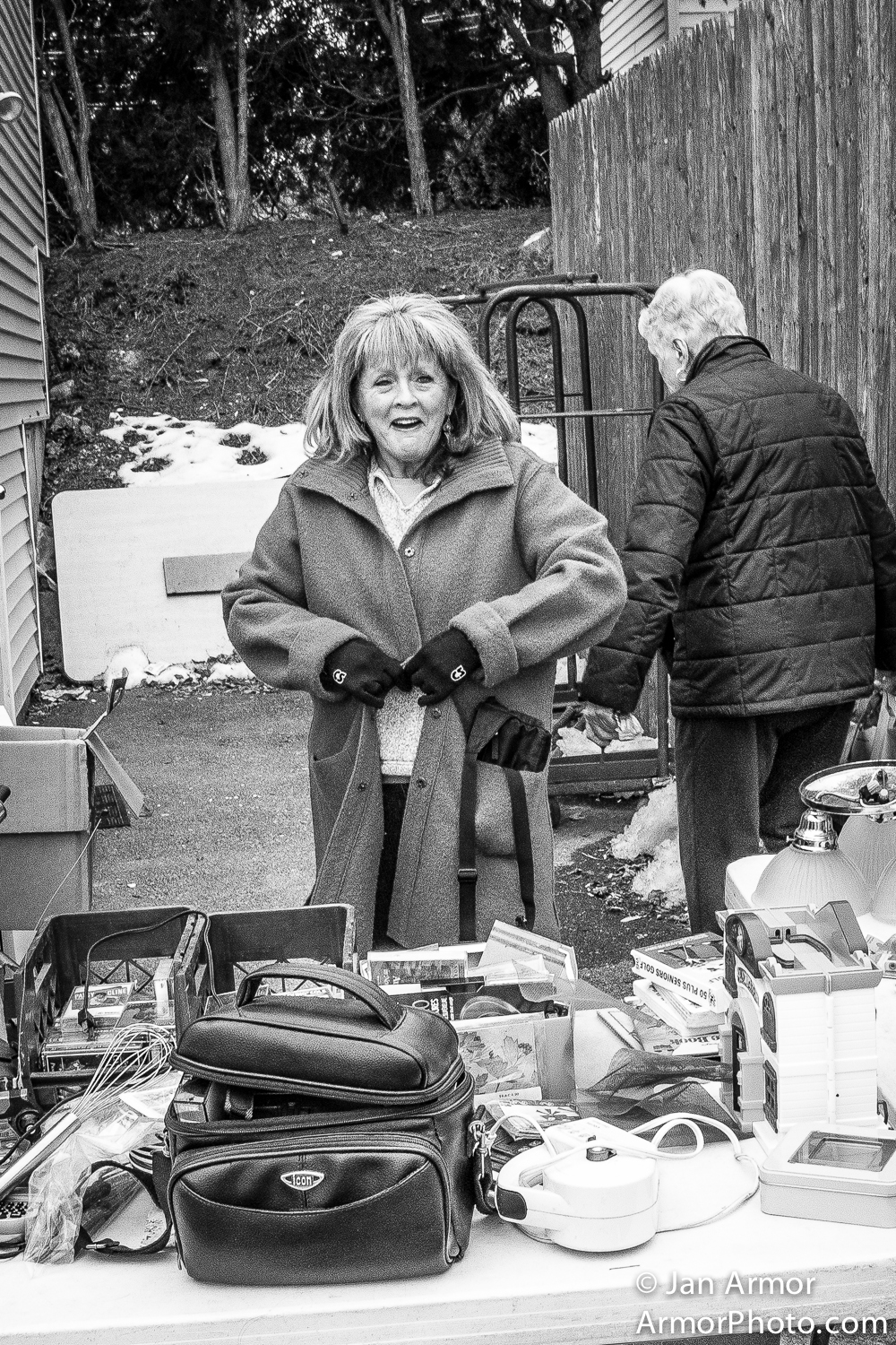 Flea Market, Jonnycake Center, Peace Dale, R.I.