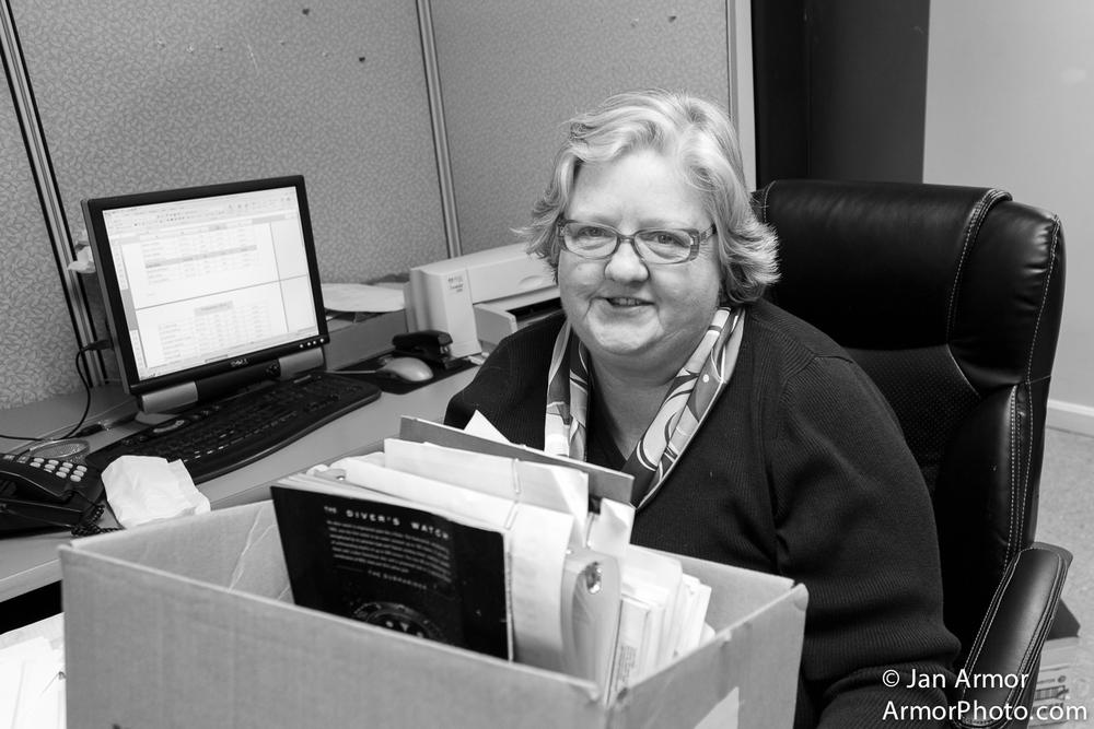 Paula At Work