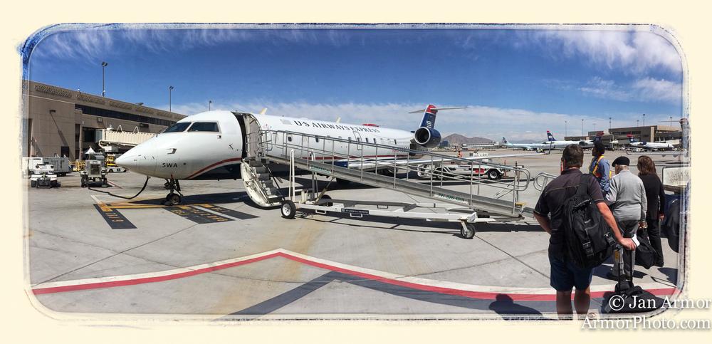 last leg of the trip, Phoenix to PSP.