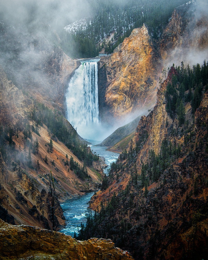 """Artists Point -Yellowstone"" by Frank Leith"