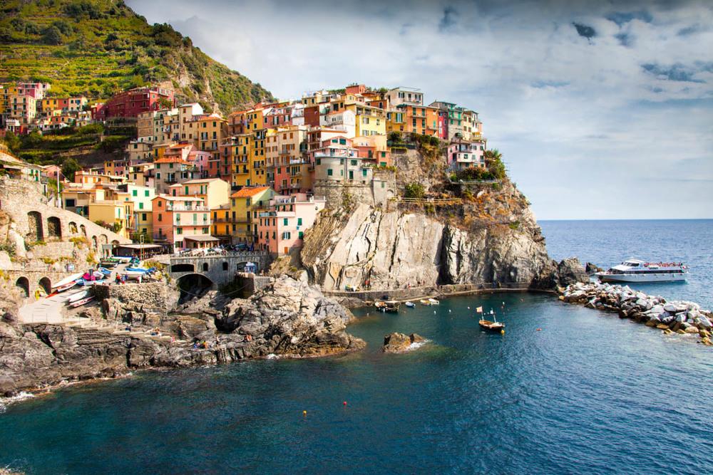 """"""" Cinque Terre"""" by  Joe Mansolilo"""