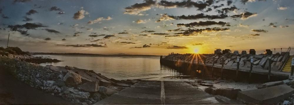 """Monaghan's Dock, Narragansett, RI"" by Bill Krul"