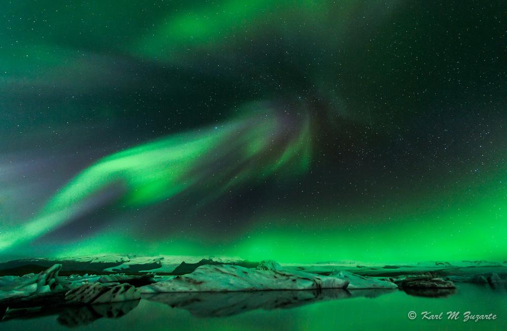"""""""Aurora Borealis"""" by Karl Zuzarte"""