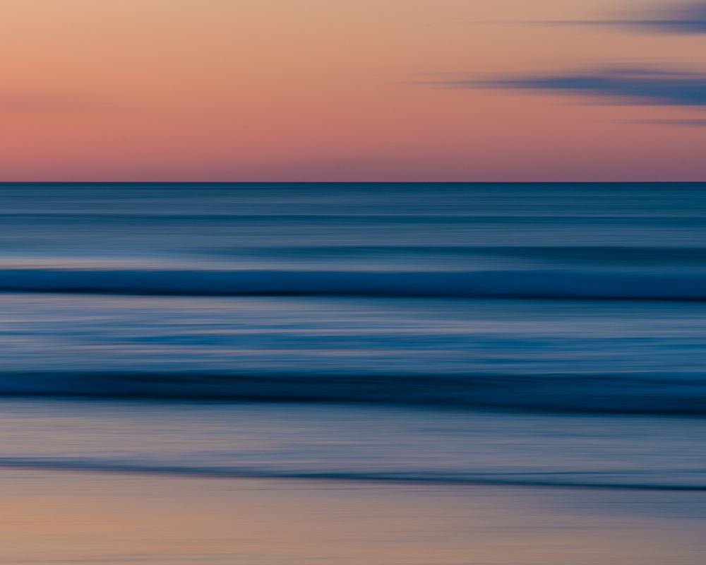 """Smooth Sunrise - Narragansett Beach"" by Kathleen Caswell"