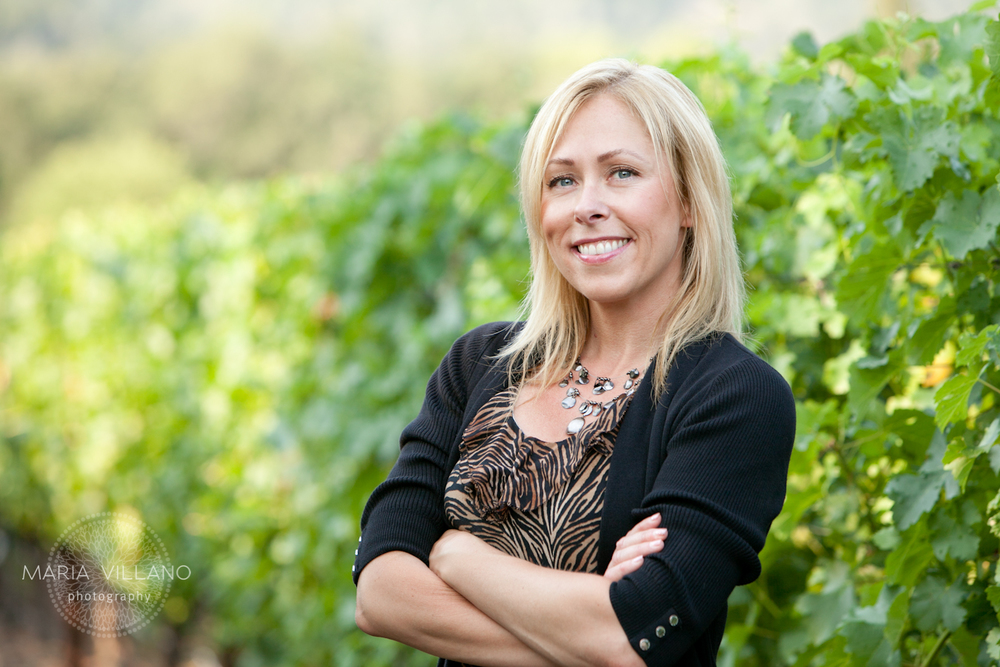 Sonja Butler Realtor Headshot in Twomey Vineyard