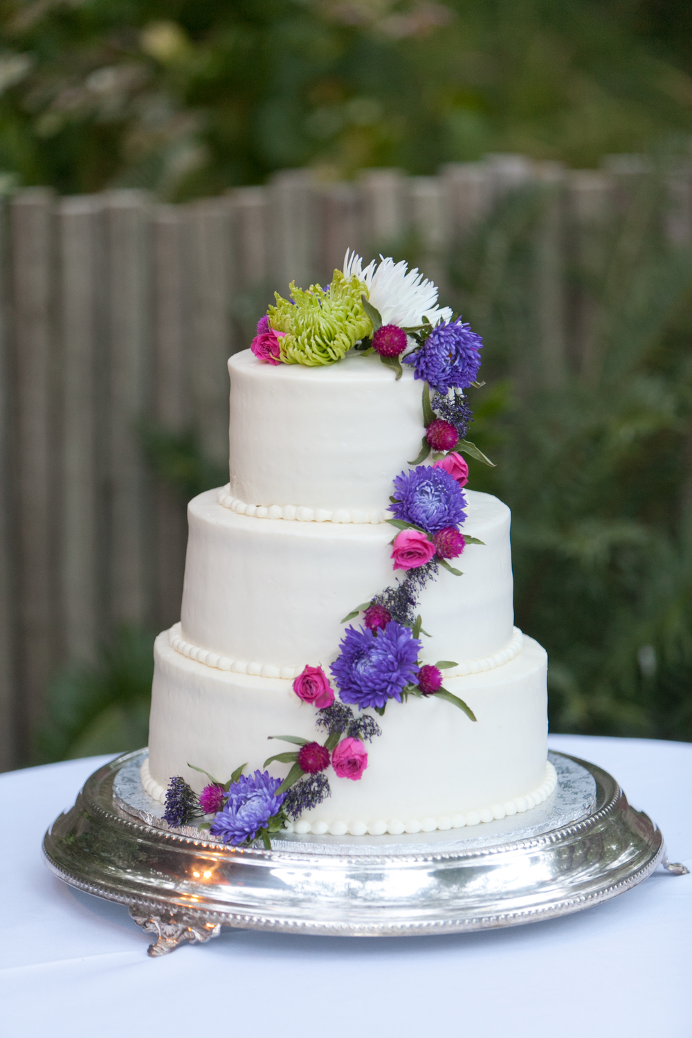 cake by your sweet expectations at sebastopol wedding