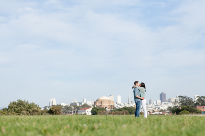 crissy field engagement photo
