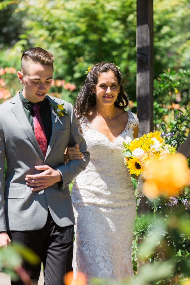 Backyard wedding santa rosa maria villano photography