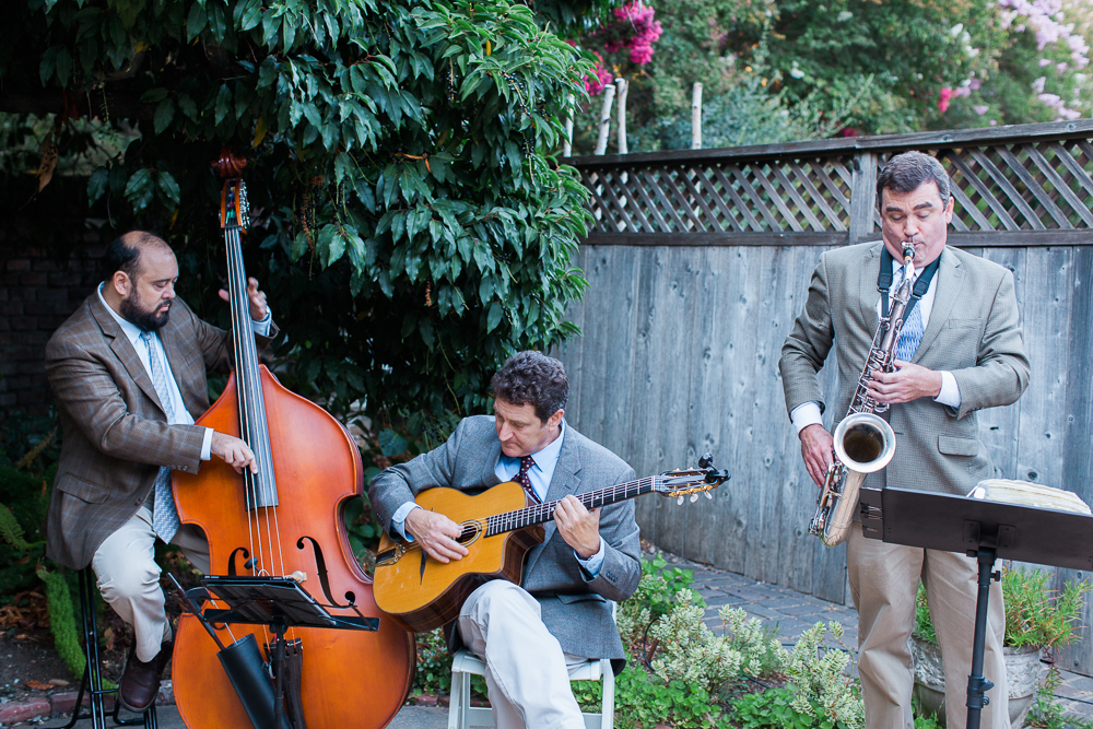 CAMPBELLS JAZZ SOUP MARIN ART AND GARDEN CENTER WEDDING