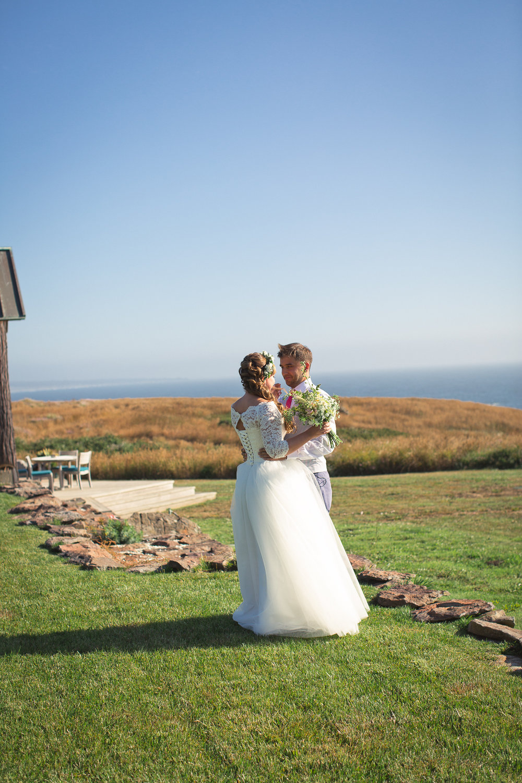 fort bragg elopement inn at newport ranch