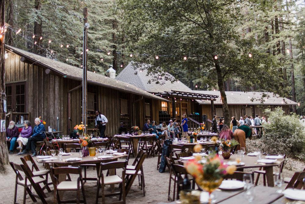 Mendocino Woodlands Camp Wedding