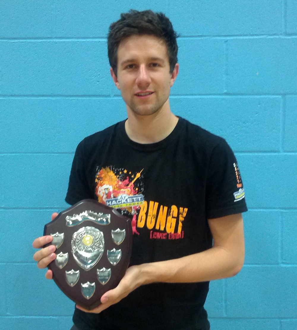 Owen Mugridge: Mens singles plate winner