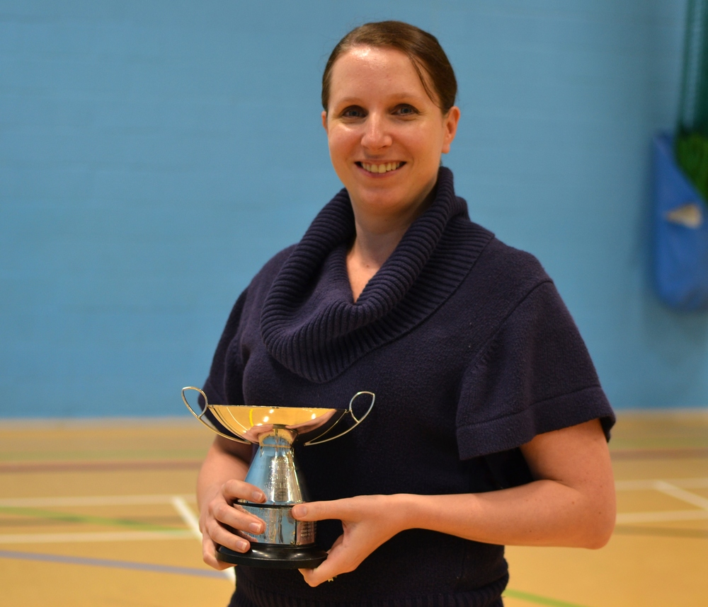 Natalie Taylor: Ladies singles winner