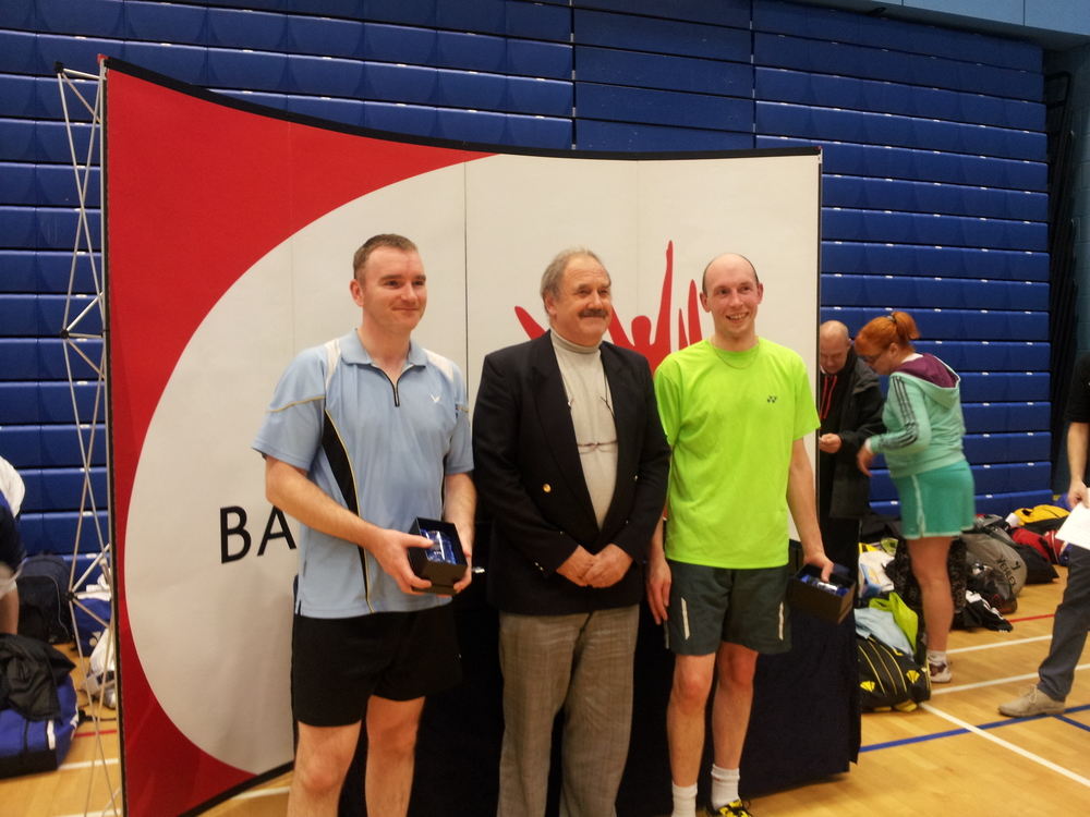 Daniel Bates and Neil Place win silver at 18th English National Masters.