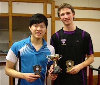 Tom Li and Josh Males U19 Doubles Champions
