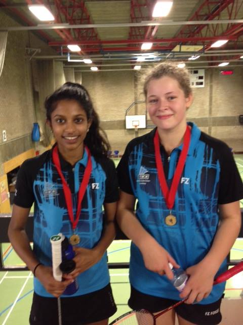 Chanumi Gamage and Hannah Milton