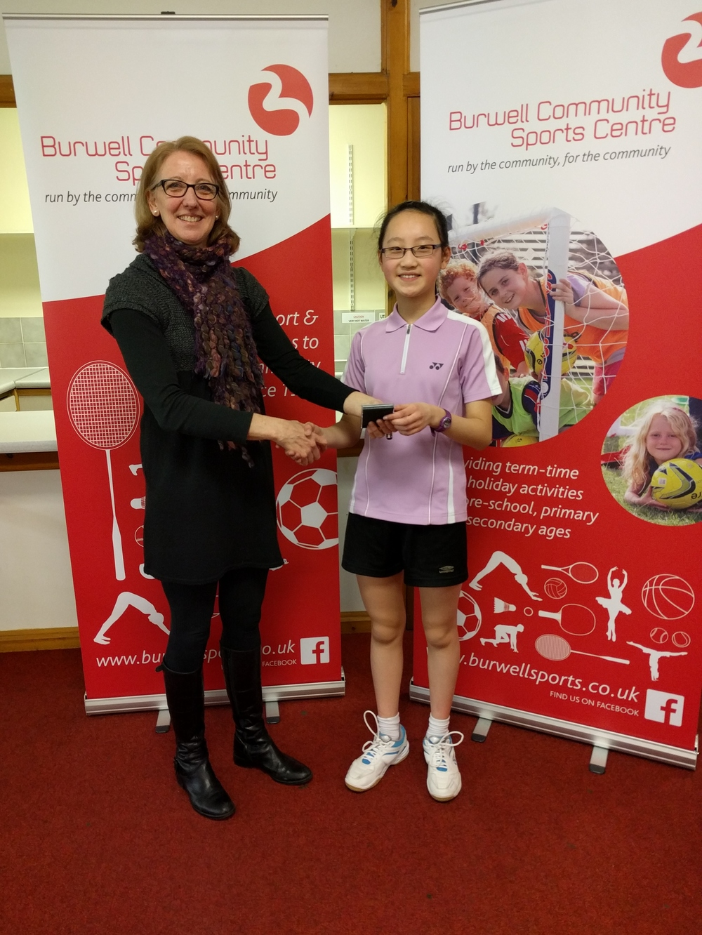 U15 Girls Singles Runner Up: Olivia Chan