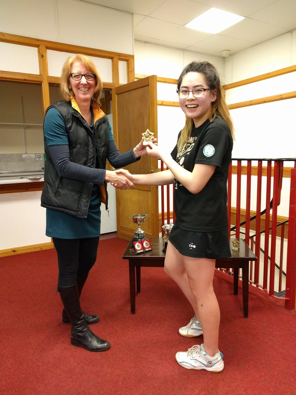 U19 Girls Singles RU: Amy Zhang