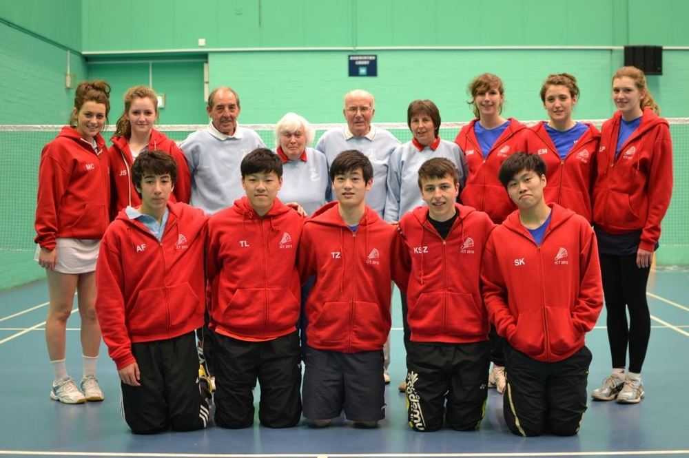 Ken and Jocelyn with the ICT squad in 2012