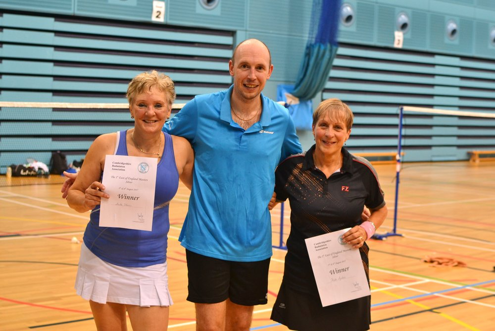 WD Masters O60 winners: Anita Harris and Kath Spillane