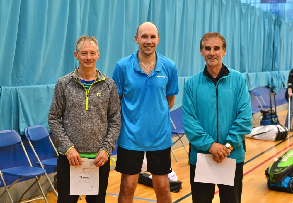 MD Masters O55 winners: Denis Cleary Ron Mellor