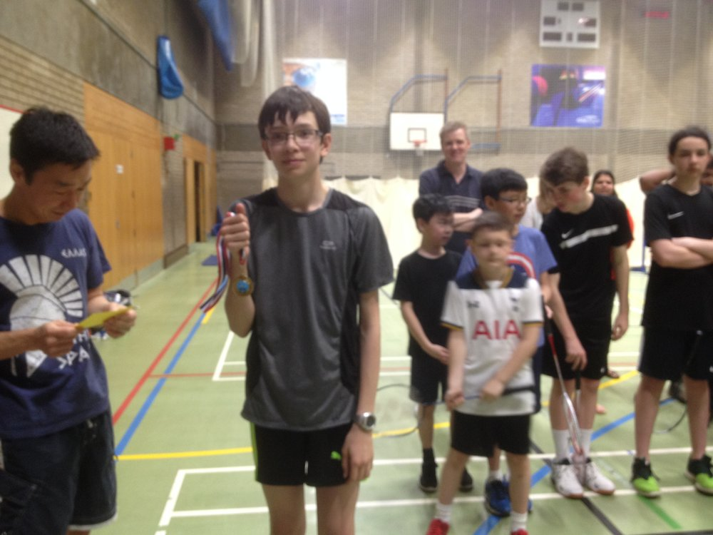 U15 Boys Singles: Ryan Hodges