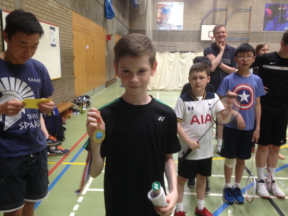 U13 Boys Singles: Joe Shears