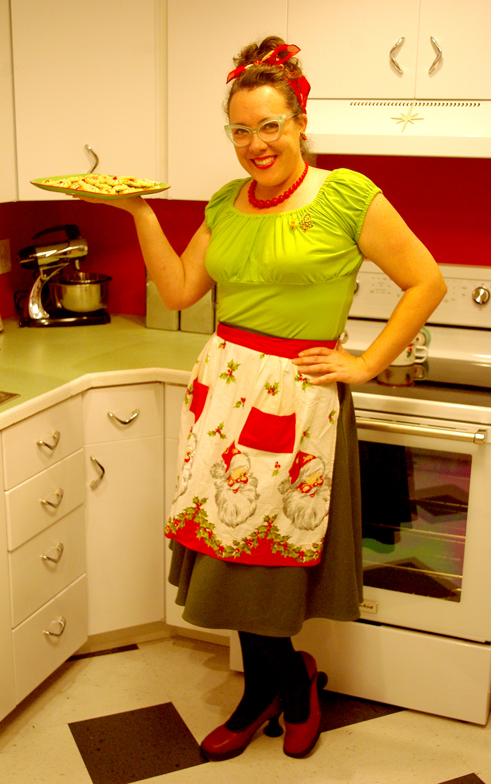 Merry Christmas, from my retro kitchen!